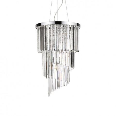 Závěsný lustr Ideal Lux Carlton SP8 117737 40cm