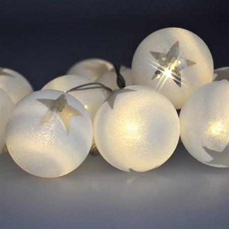Vánoční řetěz koule