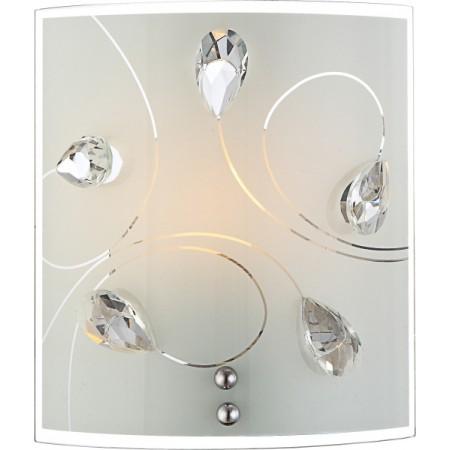 GLOBO Designové křišťálové nástěnné svítidlo ALIVIA 40414-1W