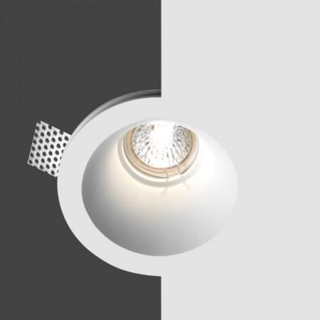 Belfiore 4022.004.35 STROPNÍ sádrové italské BODOVÉ svítidlo ruční výroby