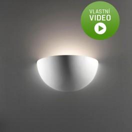 Ihned - Belfiore 7157.108.41 NÁSTĚNNÉ sádrové italské svítidlo ruční výroby