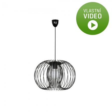 Moderní závěsné svítidlo Agadir black 10H5301