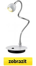 led lampa bílá