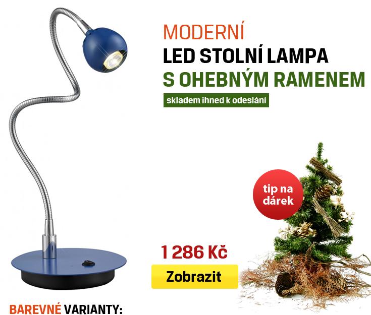 moderní stolní led lampa