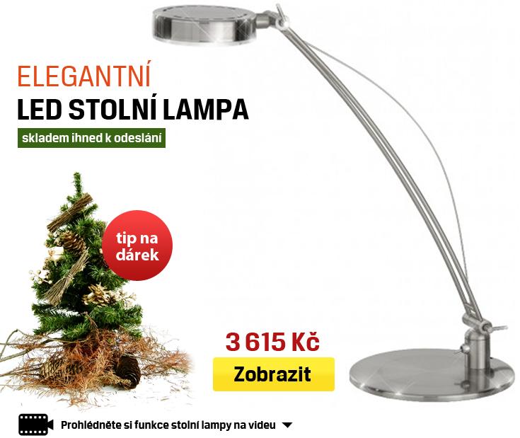 elegantní stolní lampa