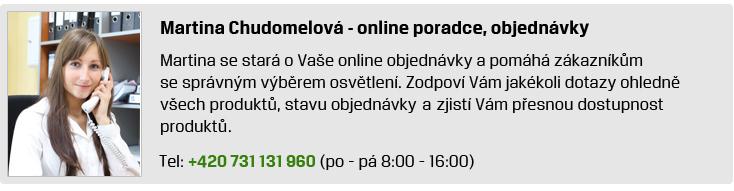 Online poradce Martina Chudomelová